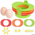 Egg Slicer Set with 3 Cutters