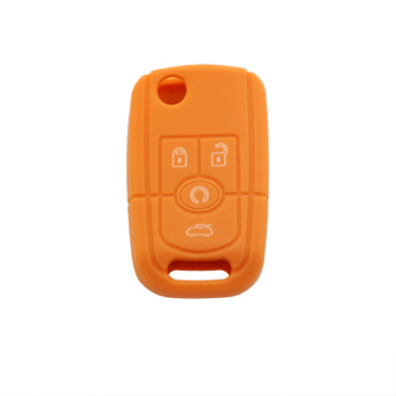 Buick 4 buttons silicon car key case