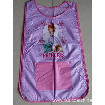 Hot Selling for Kids Aprons Waterproof PVC Double Sided Children Pattern Apron export to Poland Manufacturers