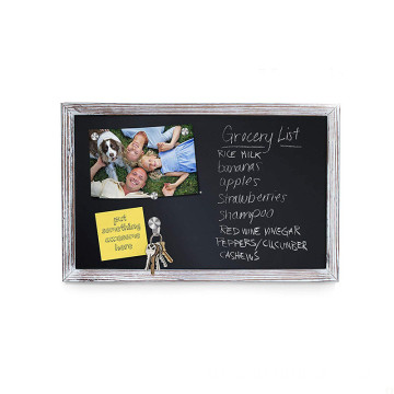 High Precision 11*17Inch Wooden Wood Chalkboard With Stand