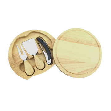 Hot-selling attractive for Cheese Knife Set,Cheese Tools Set,Cheese Board Manufacturers and Suppliers in China Small size oak cheese tool kraft cheddar cheese supply to France Wholesale