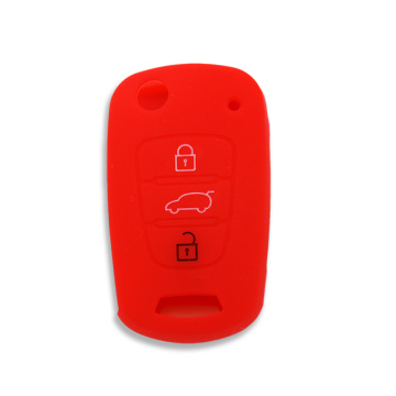 Silicone car remote key protector fob cover Kia