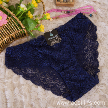 wholesale China new style panty sapphire sexy female lace elastic fancy underwear A638