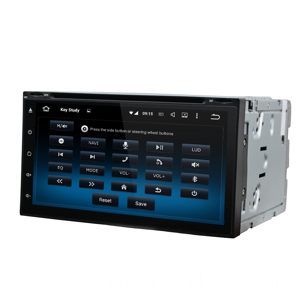 All full touch universal dvd player