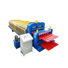 Economical Double Deck Metal Roof Roll Forming Machine