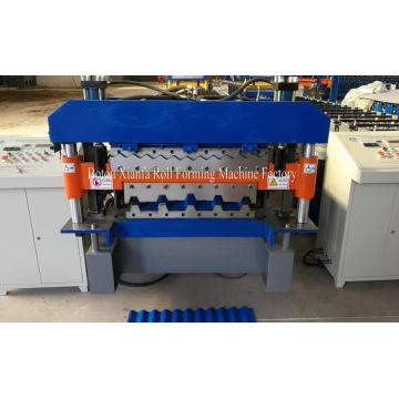 Corrugated And Trapezoidal Metal Roof Double Layer Machine