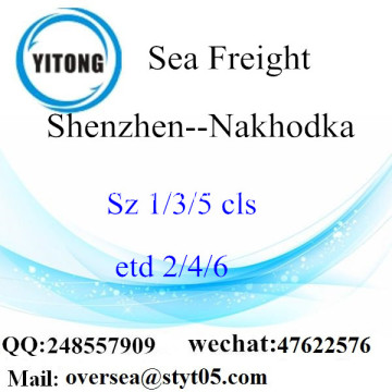 Shenzhen Port LCL Consolidation To Nakhodka