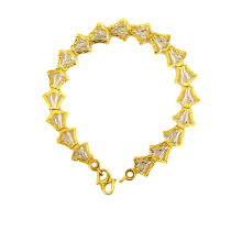 Wholesale Price for K Gold Bracelet Flower Themed Jewelry Lily Of The Valley Bracelete supply to Rwanda Suppliers