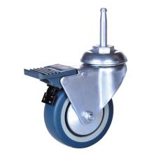 3inch PP/TPE shaft caster