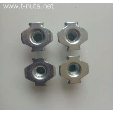 Half Thread Carbon Steel Zinc plated Tee Nuts