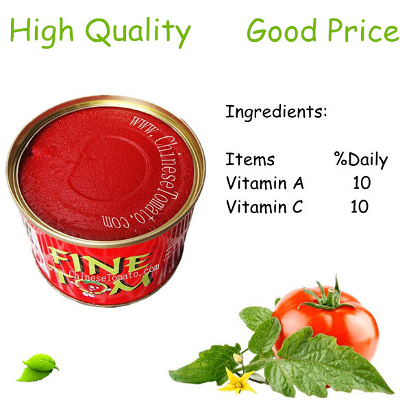 2200g 3000g 5kg Canned tomato paste with high quality