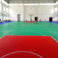 Easy to Install Sport Modular Interlocking Flooring