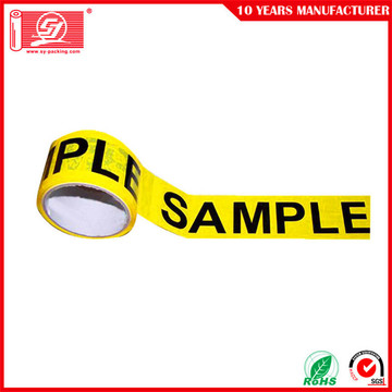 custom printed carton sealing bopp packing tape