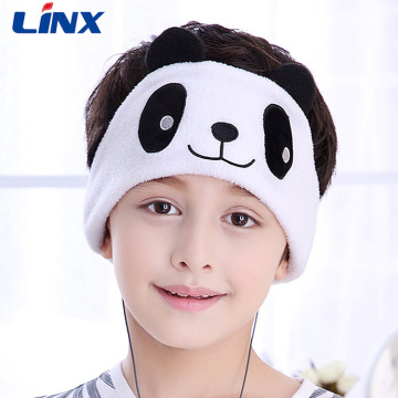 20 Years manufacturer for Sleep Mask With Earphones,Kids Headphones,Kids Headband Headphones Manufacturers and Suppliers in China Animal Styles Fleece Sleep Headband Headphones For Kids supply to Saint Vincent and the Grenadines Supplier