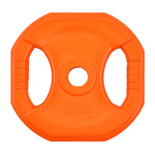 5KG Square Color Rubber Coated Weight Plate
