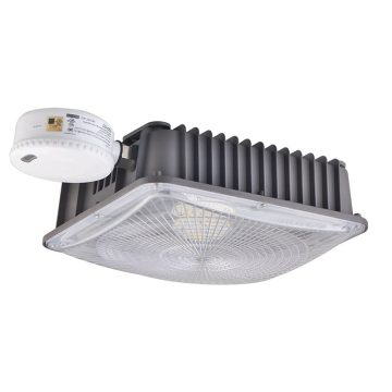 50W Parking Garage Light Fixtures Motion Sensor