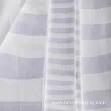Leading for Cotton Sateen Stripe Dyed Fabric Bleached & Dyed Cotton Sateen Stripe Fabric supply to South Korea Manufacturer