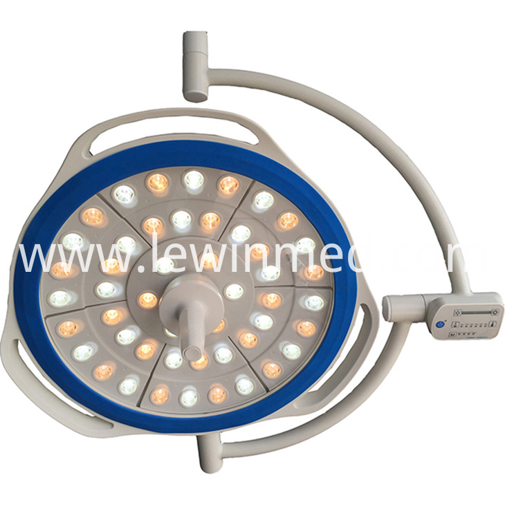 Medical light with led bulbs