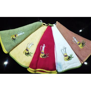 Set of 5 Decorative Cotton Kitchen Hand Towels