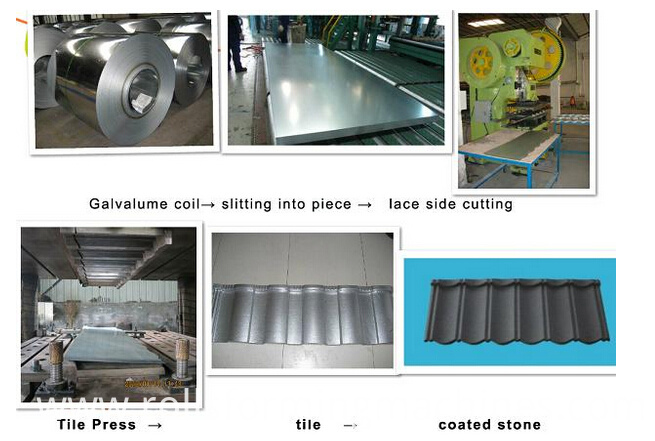 Stone Coated Roof Tile Machine
