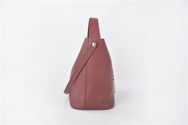 New Design Women Ladies Leather Shoulder Bucket Bag