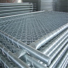 Galvanized Temporary Chain Link Fence