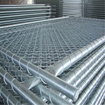 Chain Link Mesh for Temporary Fencing