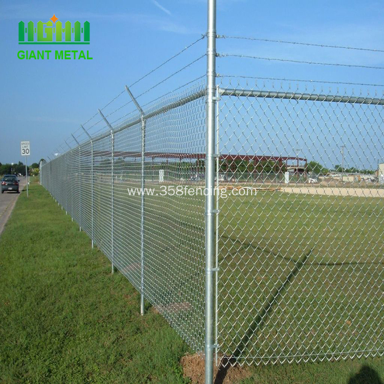 Decorative Used Cheap Chain Link Wire Fence