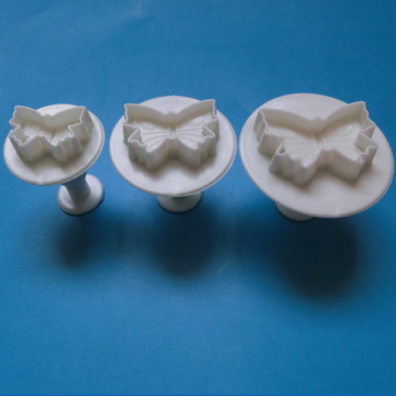 Plastic Butterfly Shape Cake Cookie Decoration Mould Press