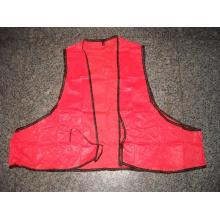 Disposable Adult Orange Safety Vest