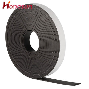 Strong anisotropic rubber magnetic tape pulling force 2kgs