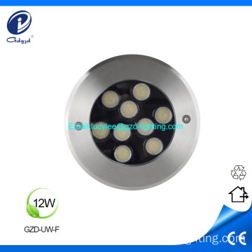 12W IP68 underwater led light fountain lighting waterproof