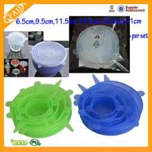 High reputation for Kitchen Silicone Stretch Lids silicone stretch fresh cover Lids for fruit bowl supply to Palestine Factory