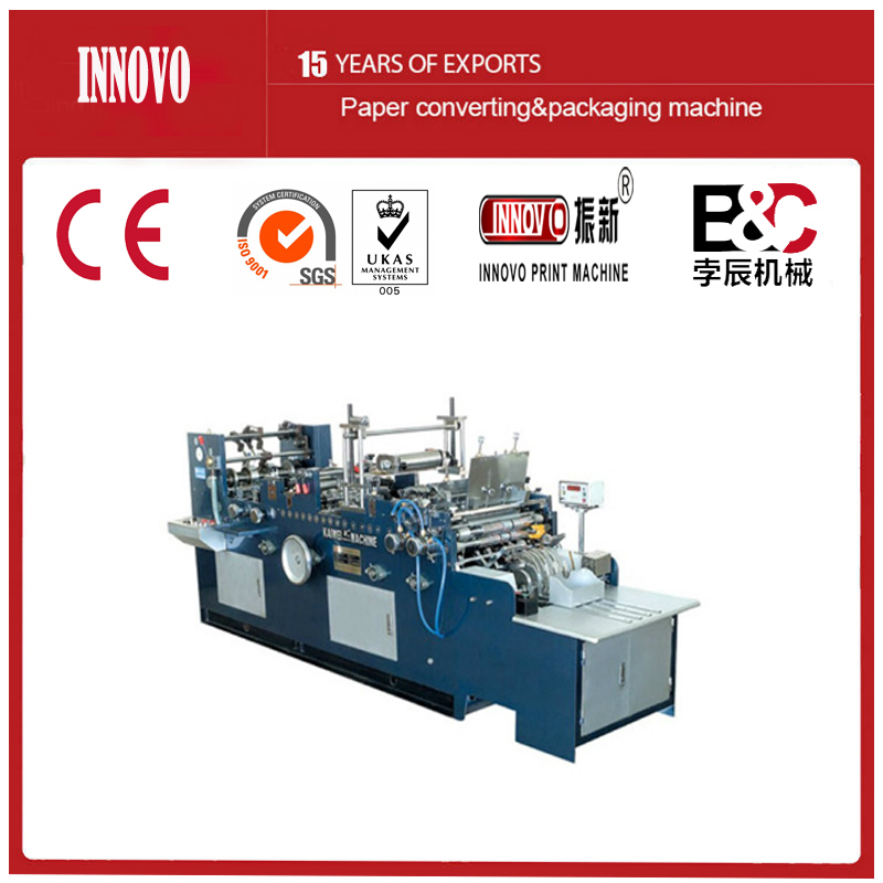 Full-Automatic Chinese and Western Envolope Making Machine