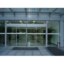 Automatic Double Tempered Glass Sliding Door