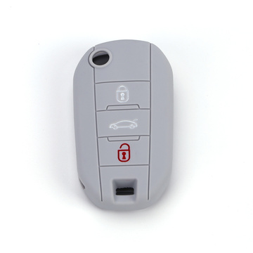 Flip Key Cover Car Key Shell para Peugeot