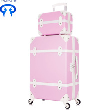 Reliable for PU Luggage Set Pull rod case master case universal travel case export to Andorra Manufacturer