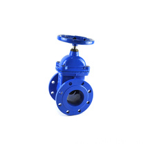 high pressure osy stem extension 3 handles gate valve with chain wheel
