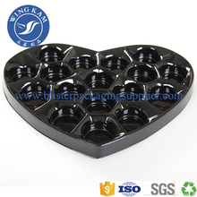Factory source manufacturing for Molded Pulp Packaging Trays Plastic Blister Tray For Chocolate Food Grade Tray export to Papua New Guinea Supplier