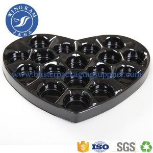Plastic Blister Tray For Chocolate Food Grade Tray