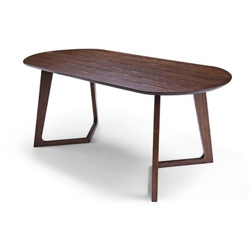 Contemporary Valley Wood Table