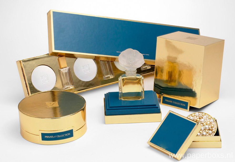Fancy Paper Mailer Luxury Perfume Boxes Packaging