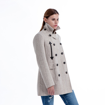 New model pure cashmere overcoat