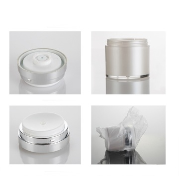 Acrylic Pressed Vacuum Emulsion Jars Cream Jars