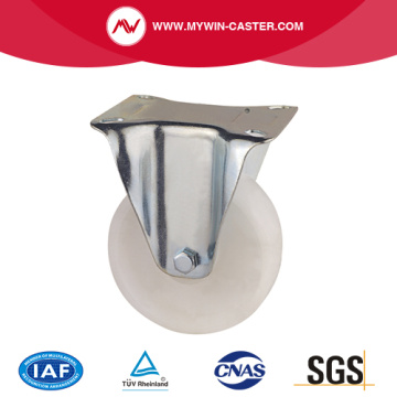 Plate Fixed PP Industrial Caster
