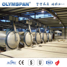 ASME standard sand lime block autoclave