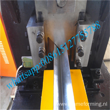 Wall angle roll forming machine for thickness to 3.5mm