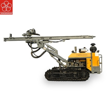 Hydraulic hard rock drilling machine with Yuchai diesel