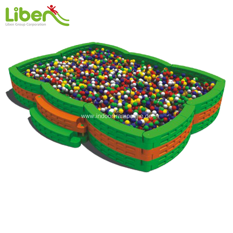 Plastic ball pool for home