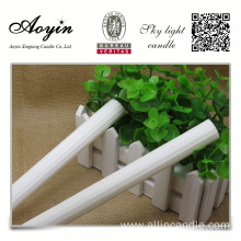 Factory Price for 12G White Candle With Plastic Bag Free sample Fluted Candle to Africa supply to French Polynesia Importers